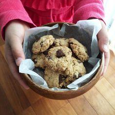 オートミール入りのザクザククッキー。 - 31件のもぐもぐ - チョコチップクッキー。 by lovers214