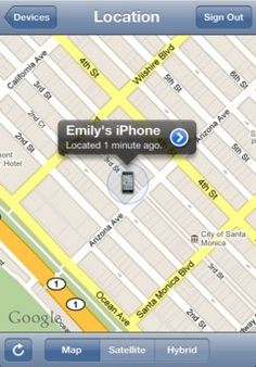 A new App has been created in order to locate lost iphones. It uses a GPS signal to pinpoint the location of your phone at any time, and can instruct the handset to ring on top volume if it's nearby, even if the phone was set on silent. I think this is a really useful (if not a little overdue) App, and a clever use of todays technology.