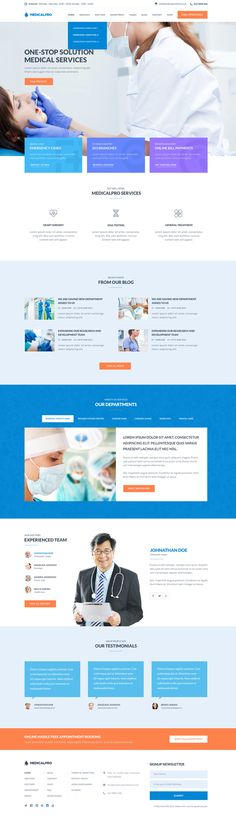 MedicalPro - Health and Medical WordPress Theme #html5wordpressthemes…