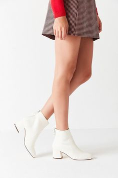 Slide View: 3: Harlow Faux Leather O-Ring Ankle Boot