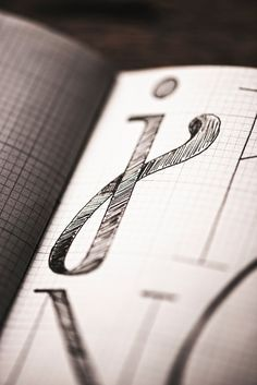 I fell in love with a letter    twentysix - handlettering alphabet by Hannah Rabenstein, via Behance
