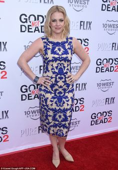 Luxe or Less: How to get Melissa Joan Hart's chic nude dress look for a steal