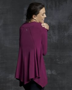 Lounge Long-Sleeve Tee $68.00    We loved our Flutter Tank so much, we took the shape and crafted a long-sleeve tee that's just as easy, comfortable and stylish. The loose, drapey fit makes it a top you'll reach for again and again.