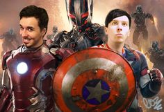 Coming soon from Marvel is Iron Dan vs Captain Phil (do I put this on my marvel board or my Dan and Phil board lol)