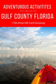 Why Gulf County Florida? Inexpensive family friendly, lots of outdoor activities, & great weather all year @gulfcountyfl #ad #GCFLnofilter