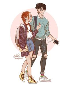 cartoon art anne and gilbert from anne with an e November 21 2019 at Cute Couple Drawings, Cute Drawings, Cartoon Kunst, Cartoon Drawings, Character Inspiration, Character Art, Amybeth Mcnulty, Gilbert And Anne, Gilbert Blythe