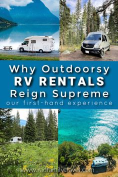 Do Outdoorsy RV Rentals Truly Rule Supreme? - Rad Family Travel Inexpensive Family Vacations, Rent A Campervan, Family Travel, Family Camping, Rv Rental, California Vacation, Rv Life, Vacation Spots, Travel Usa
