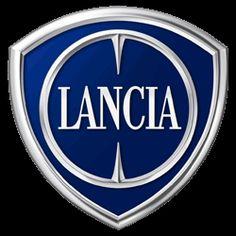 Lancia, Logo der 1906 gegründeten italienischen Fahrzeugfirma mit ...