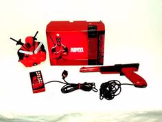 nintendo nes marvel deadpool game console custom made & painted works great from $499.99