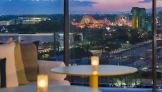 Two Disneyland Good Neighbor Hotels in Anaheim, Calif. — the JW Marriott Anaheim Resort and the Radisson Blu Anaheim — are offering Disney-themed packages for guests who want to continue the magic after they leave the theme parks: Disneyland Good Neighbor Hotels, Disneyland Resort, Anaheim Resort, Anaheim Hotels, Concert Lights, Disney Gift Card, Radisson Hotel, Night Book, Spacious Living Room