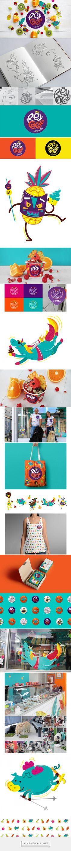 Rey Cacao / Ice cream on Behance - created via https://pinthemall.net