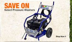 Save on Select Pressure Washers