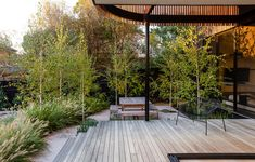 Olivier Rasir's 'Wild Man Dreaming' - The Design Files | Australia's most popular design blog. Australian Architecture, Australian Homes, Most Beautiful Gardens, Exterior, Outdoor Living, Outdoor Decor, Outdoor Furniture, The Design Files, Decks