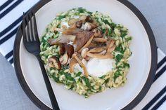 Het is alweer een tijd geleden dat ik een risottorecept voor jullie heb gemaakt...maar daar komt vandaag verandering in! Ik maakte een heerlijke risotto met spinazie, burrata en paddenstoelen en het recept staat nu online :-). http://www.francescakookt.nl/risotto-spinazie-burrata-en-paddenstoelen/