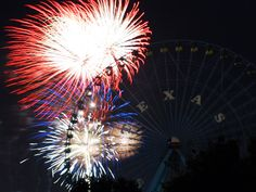 DALLAS What: Dallas' Fair Park Fourth 2015 When: Saturday, July 4 – 6 a.m.- 10 p.m.; fireworks start at 9:45 p.m. Where: Fair Park, Dallas, TX Cost: Free The city of Dallas, Friends of Fair Park, and WFAA-TV Channel 8 invite you to celebrate America's birth at the City of Dallas' official Independence Day celebration, Fair Park Fourth. The 2015 Fair Park Fourth celebration starts with the Dallas 7/4 race in the morning and finishes with Dallas' official fireworks display at night.