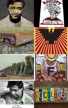 Sí, se puede!  Dia de Cesar Chavez by Kim Solga on Etsy--Pinned with TreasuryPin.com