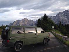 VW T4 Eurovan Syncro camper