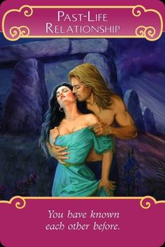 Oracle Card Past-Life Relationship Doreen Virtue official Angel Therapy Web site Free Tarot Cards, Twin Flame Love, Twin Flames, Angel Cards, Oracle Tarot, Past Life, Card Reading, Deck Of Cards, Mantra