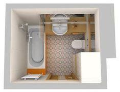 Aranżacje wnętrz. Wanna, prysznic i pralka w łazience o powierzchni 4,6 m kw.; architekt radzi, łazienki, łazienka, mała łazienka, urządzanie łazienki; Wiadomości - Serwis DOM i NIERUCHOMOŚCI Bathroom Inspiration, Home And Garden, Kitchen Appliances, Diy, House, Rooms, Decor, Bath, Living Room