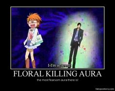 skip beat meme - ahh the majestic floral aura It is the most horrible aura out there