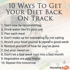Get your back on track (Fitness Journal Water) Weight Loss Motivation, Weight Loss Tips, Fitness Motivation, Motivation Quotes, Get Healthy, Healthy Life, Healthy Living, Healthy Meals, Health And Wellness