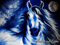 Horse of Heaven - Painting by Shubhasmit Gupta in My Paintings at touchtalent