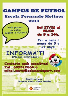 Campus U.E. Sitges - Escola Fernando Molinos