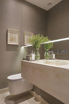 Fancy Houses, Small Bathroom, Bathrooms, Toilet, Sweet Home, Interior Design, Nova, Home Decor, Toilet Decoration