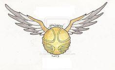 The Golden Snitch by bandsaw013.deviantart.com on @deviantART