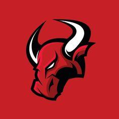 furious-bull-sport-vector-logo-concept-isolated-on-red-background-vector-id649348718 (612×612) Toro Vector, Bull Logo, Esports Logo, Shadow Art, Premium Logo, Logo Sticker, Logo Concept, Animal Logo, Stationery Design