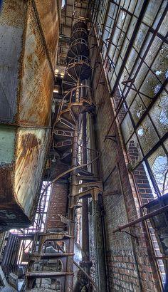 power house in Utica, N.Y.