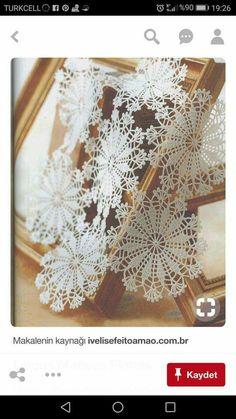 Filet Crochet, Crochet Art, Crochet Motif, Vintage Crochet, Crochet Snowflake Pattern, Crochet Snowflakes, Doily Patterns, Crochet Patterns, Tablecloth Fabric
