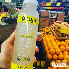 When you prefer your citrus squeezed… #itsthejuice #suja