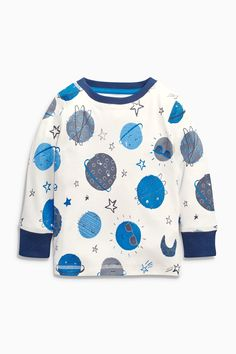 Buy Three Pack Blues Planets Snuggle Pyjamas (9mths-8yrs) from the Next UK online shop