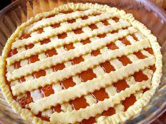 Linzer reteta Linzer-Torte, o tarta delicioasa cu aluat fraged si gem Quiche, Gem, Cheesecake, Dessert Recipes, Bread, Food, Pie, Cheesecakes, Brot