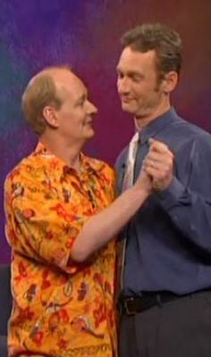 Colin Mochrie and Ryan Stiles