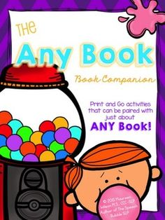 NO PREP book companion that can be used with just about ANY BOOK! For grades K-7!