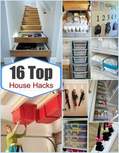 These easy #LifeHacks will bring a new level of organization to your home!:
