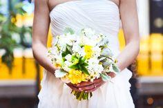 Yellow wedding bouquet (Rachel Pearlman Photopgraphy)