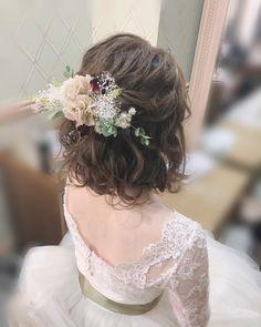 Wedding Hairstyles For Medium Hair, Short Wedding Hair, Elegant Hairstyles, Wedding Hair And Makeup, Bride Hairstyles, Summer Hairstyles, Medium Hair Styles, Short Hair Styles, Asian Short Hair