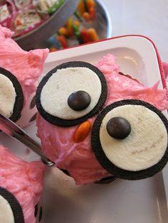 Cuuuuuuuuuuuuuuuute Owl Cupcake!