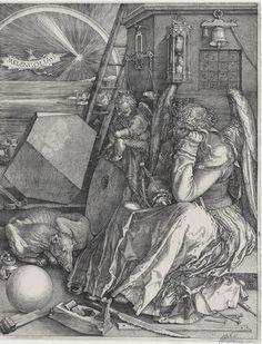 Melancolía I, 1514, Alberto Durero