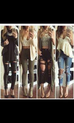 Quelle look préférait vous ?