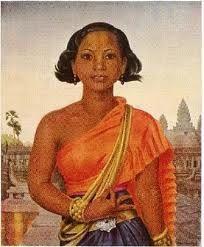 Jean Despujols People Of The World, Brush Strokes, Cambodia, Beautiful People, Mona Lisa, Culture, Artwork, Painting, Women