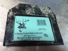 HUNTING CAMO  BADGE OR LICENSE HOLDER HUNTING FISHING & MORE   NEW  #HUNTING