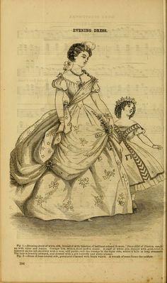 Godey's lady's book 1864 Jan -June; Jul - Dec