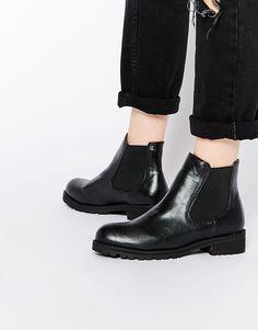 London Rebel Chunky Chelsea Boots