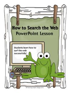In this 5 slide interactive PowerPoint lesson, students are taught a simple format to find information on Google or other websites more efficiently. A student worksheet is included.