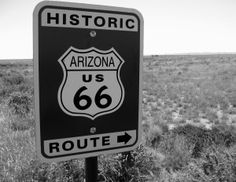 Route 66 Sign. Petrified Forest. Arizona. See link for story and pics. #petrifiedforest #route66 #arizona