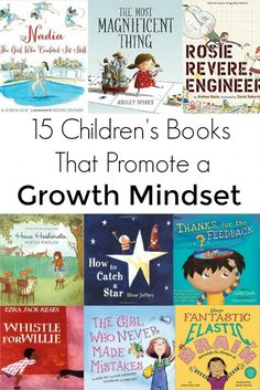Children's Books That Promote a Growth Mindset Help reinforce a growth mindset in your kids with these fourteen children's books.Help reinforce a growth mindset in your kids with these fourteen children's books. Kids Reading, Teaching Reading, Teaching Ideas, Reading Books, Teaching Grit, Teaching Resources, Math Books, Close Reading, Teaching English